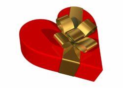 Present hjärta